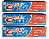Crest Kids Crest Toothpaste - Cavity Protection, 6.6 Oz (3 Pack)