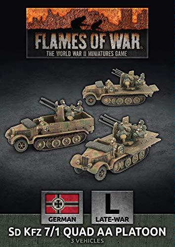 Flames of War: Late War: German: SdKfz 7/1 Quad AA Platoon (GBX159)