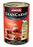 Animonda Gran Carno - Cibo per Cani, carne di manzo, 6 x 400 g...