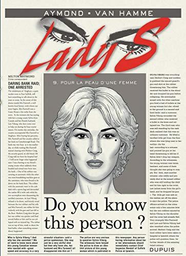 Lady S - tome 9 - Pour la peau d'une femme