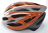 Casque de vélo unisexe Shine, réglable, léger, pour VTT, vélo de route pour homme et femme, ORANGE(LARGE)
