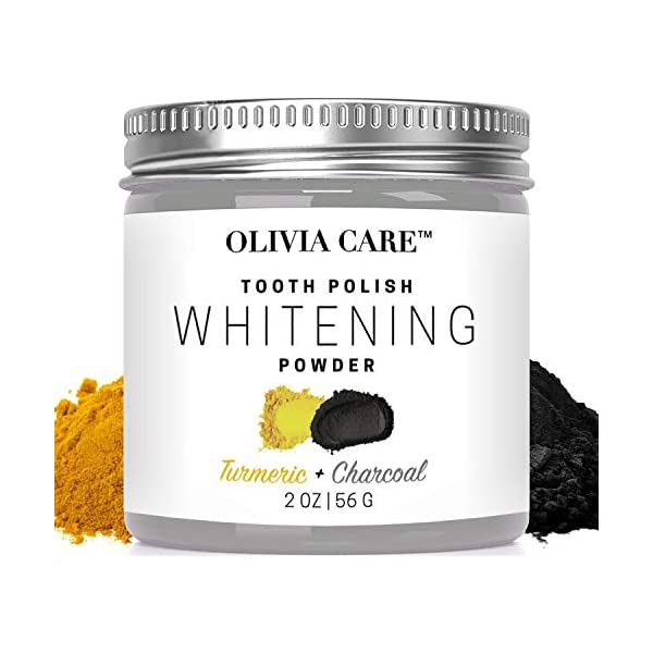 Activated Charcoal Tooth Powder By Olivia Care