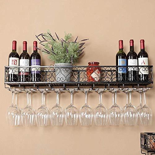 Weinhalter, Weinglas Rack-Küchen-Wand-Hung Weinhalter, Weinglas Rack-Hang Cup-Rack, Hänge Goblet Regal Kreative Wein Rotwein Halter, Weinglas Rack-Bar Weinhalter, Weinglas-Rack WTZ012