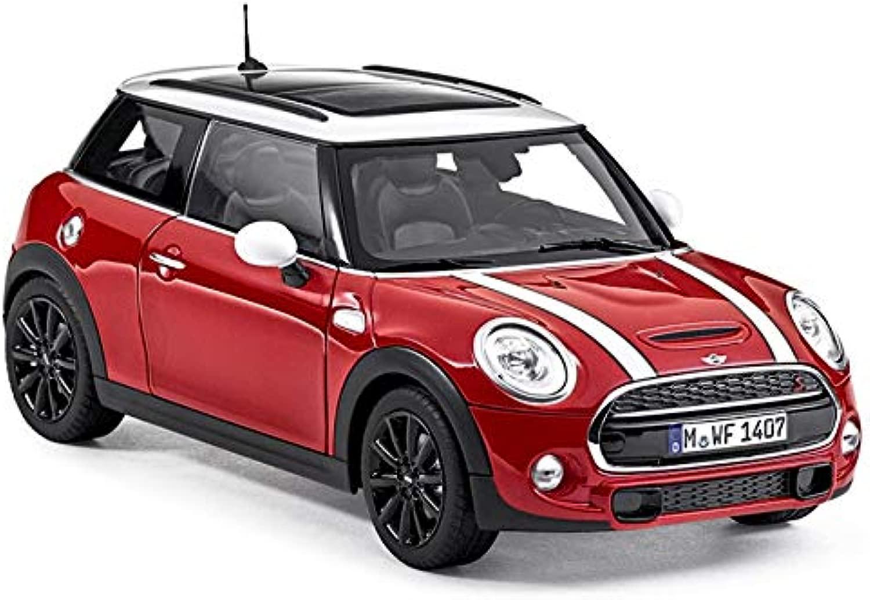 Mini Genuine Cooper S 3porta in miniatura auto giocattolo scala 1  18Blazing rosso 80432413799