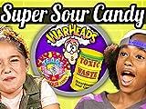 Kids Vs. Sour Candy Challenge