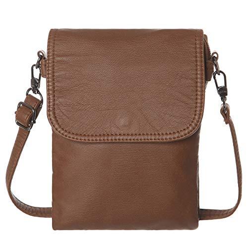 AOCINA Small Crossbody Cell Phone Purse Wallet Card Slots Small Crossbody Phone Bags for...