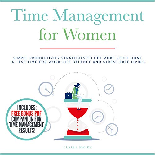 『Time Management for Women』のカバーアート