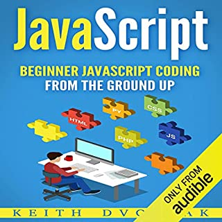 JavaScript audiobook cover art