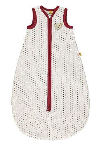Steiff Baby-Mädchen Schlafsack, Weiß (Allover|Multicolored 0003), 74 (Herstellergröße: L 90)