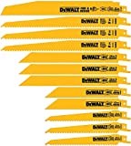 Product Image of the DEWALT Reciprocating Saw Blades, Bi-Metal Set with Case, 12-Piece (DW4892)