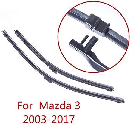 Toatgia Limpiaparabrisas, para Mazda 3 2003 2004 2005 2006 2007 2007 2008 2009 2010-