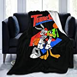 Space Jam Soft and Warm Blankets Digitally Printed Super Soft Micro-Fleece Blankets Four Premium Aircraft Soft Micro-Fleece Travel Blankets.