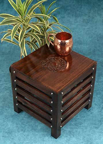 Amaze Shoppee Wooden Beautiful Handmade Stool