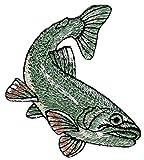 Pescado parche plancha de tamaño 6,0x 7,0cm