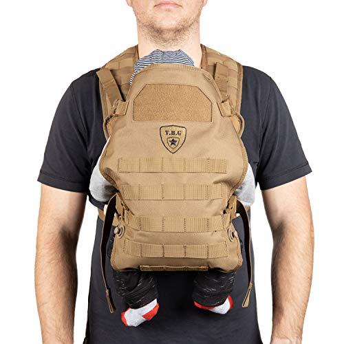 TBG Tactical Baby Carrier Coyote Brown