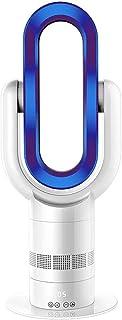 Dual Frío Caliente Uso Ventilador Sin Cuchilla, 25 Pulgadas De Pie Mudo 360 ° Columpio Ahorro de Energia Torre Abanico, con Control Remoto y Funciones de Temporización, Four Seasons Universal