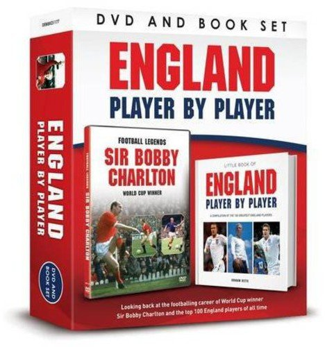 England Player by Player (Portrait Dvdbook Gift Set)
