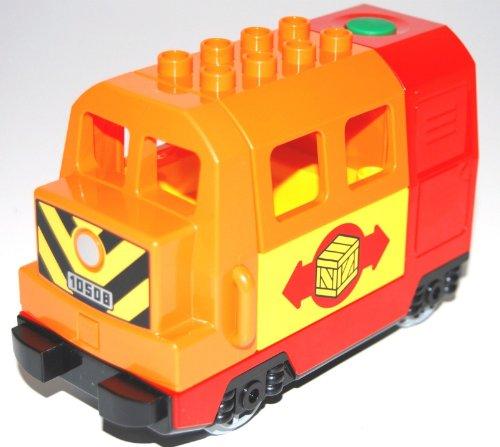LEGO® DUPLO® elektrische Lokomotive orange/rot/gelb in LEGO® Polybag
