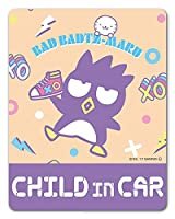 バッドばつ丸車マグネットステッカー【CHILD IN CAR】