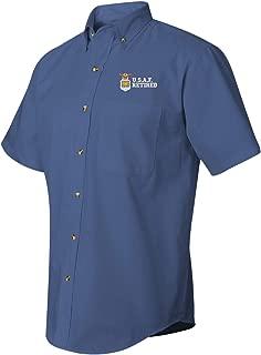 MilitaryBest U.S.A.F Retired Short Sleeve Dress Shirt