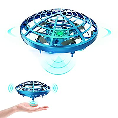 DEERC Drone for Kids Toys Hand Operated Mini Drone UFO Flying Ball Toy Gifts for Boys and Girls Motion Sensor Helicopter Outdoor and Indoor from DEERC