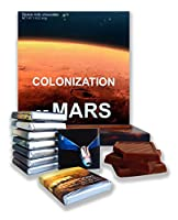 "Chocolate box food gift ☄ ""COLONIZATION OF MARS"" ☄ a nice space themed chocolate set! (着陸)"