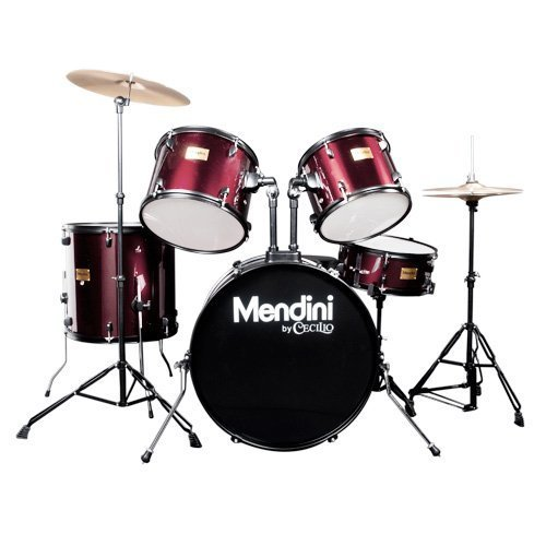 Mendini by Cecilio Full Size 5-Piece Adult Drum Set