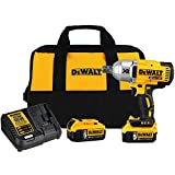 DEWALT 20V MAX XR Cordless Impact Wrench with Hog Ring, 1/2-Inch,...