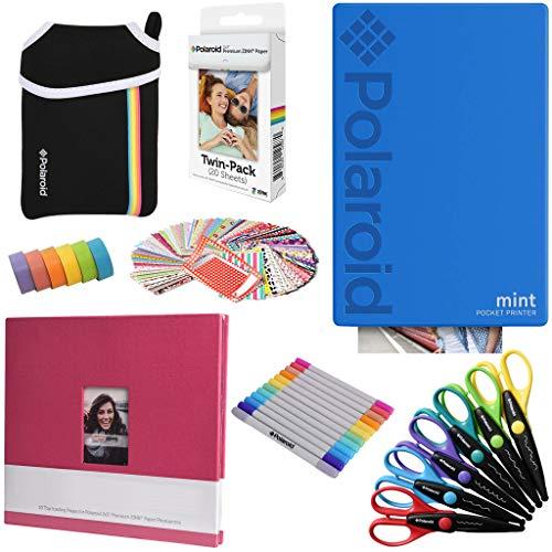 Polaroid Mint: Impresora instantánea Azul PAQ Arte