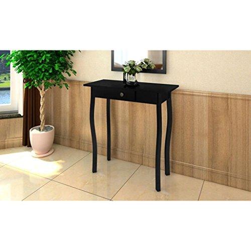 Dondans -Consola de estilo provenzal, color negro en tablero