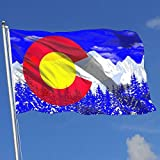Colorado Flag Mountain Flags 3x5 Foot Banner 3X5 Ft Polyester Banner Flags