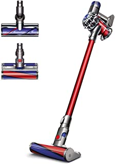 Dyson V6 Absolute HEPA Cordless Vacuum, Red (Renewed)