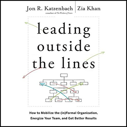 Leading Outside the Lines audiobook cover art