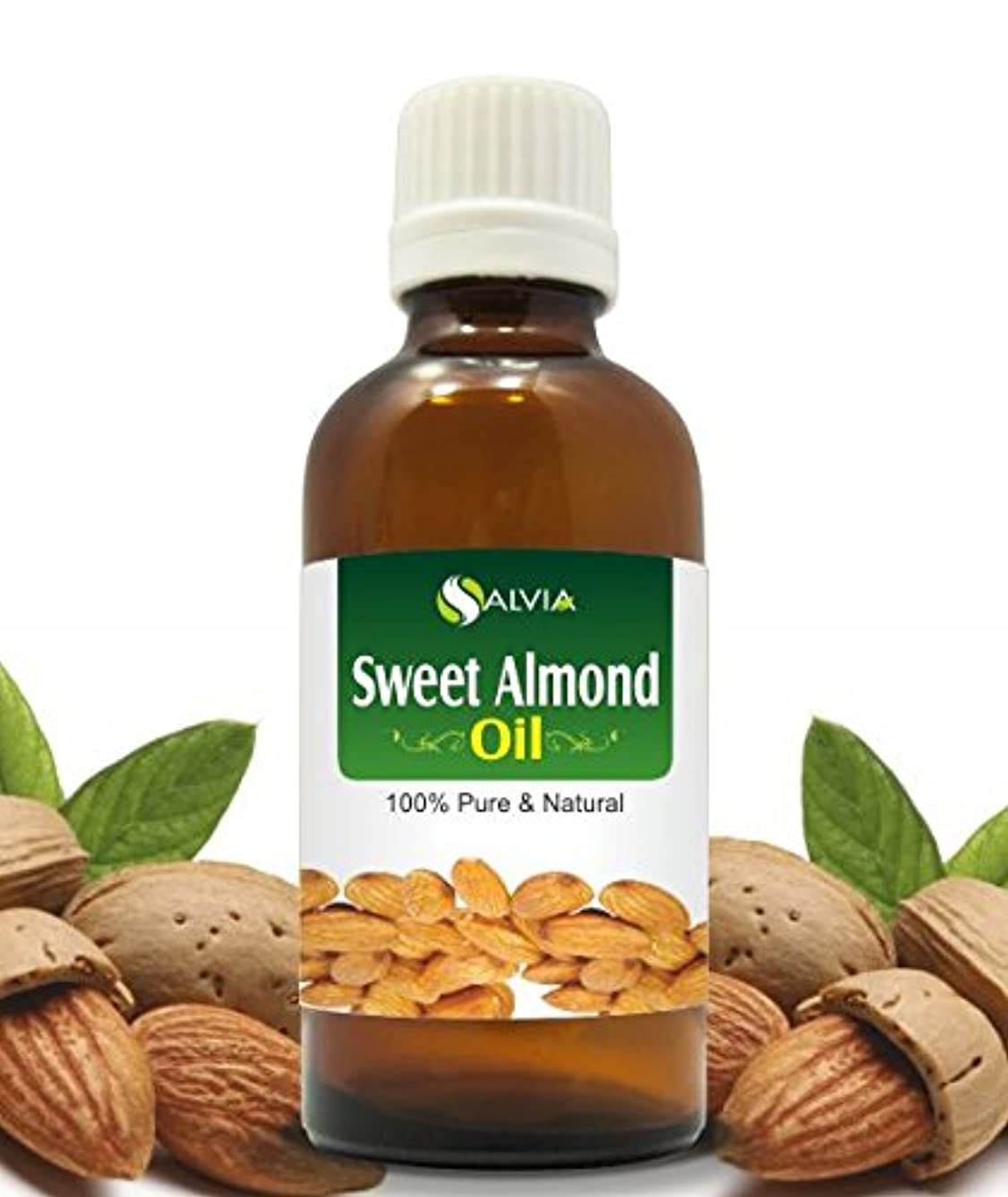 祝うバースト痛みSWEET ALMOND OIL 100% NATURAL PURE UNDILUTED UNCUT CARRIER OILS 15ML