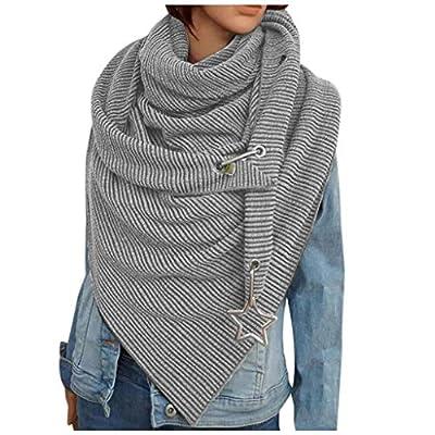 Women's Scarves Lady Solid Color Fashion Sc...