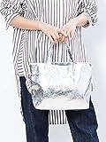 (コレックス) collex バッグ 《定番人気》 メタリックミニトートバッグ レディース シルバー Free