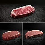 Strip Loin Steak Paket - Rumpsteak, Roastbeef - American Beef, Bison und Hereford | OTTO GOURMET | 3x 300g Steakgenuss