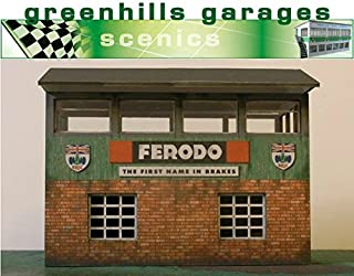 Greenhills Scalextric Slot Car Building Silverstone Timekeepers Hut Kit 1:32 Scale