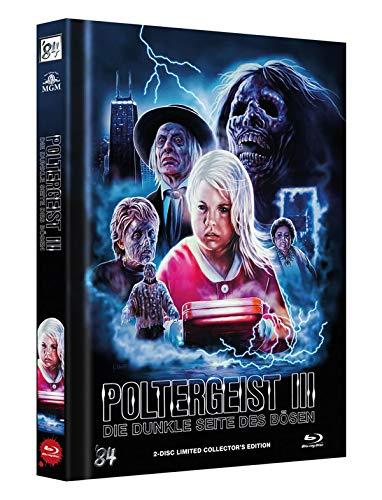 Poltergeist 3 - Die dunkle Seite des Bösen - 2-Disc Limited Collector's Edition - Uncut - Mediabook, Cover C  (+ DVD) [Blu-ray]