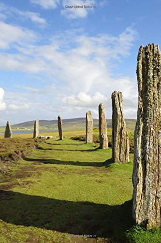 Ring of Brodgar Stone Circle Scotland Journal: 150 Page Lined Notebook/Diary