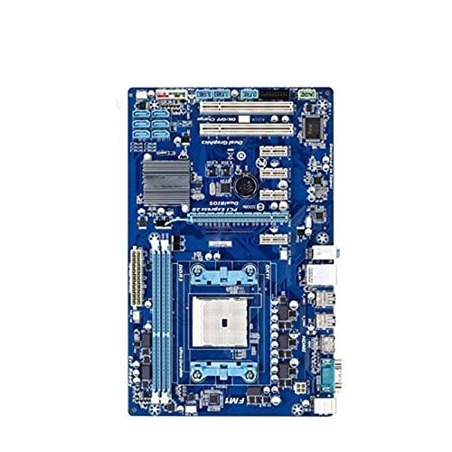 Placa Base de Escritorio Fit for GIGABYTE GA-A55-S3P A75 Socket FM1 para Placa Base de computadora A8 A6 A4 E2 32G ATX A55-S3P(Color:A)
