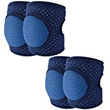 Baby Knee Pads for Crawling,Toddler Knee Pads Adjustable Anti-Slip & Breathable Protector for Infant Girl Boy