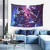 Tapiz para colgar en la pared Halo Videojuegos Jugador Tapiz para Dormitorio Estética Decoración de Pared Manta Playa 100 x 152 cm