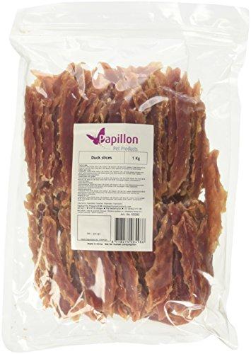 Papillon Pet Products Friandises pour Chiens, tranches de Canard, 1 kg -