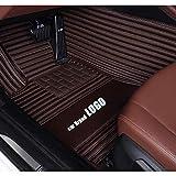 WHJIXC para Landrover Logo Landrover Evoque Range Rover Velar Discovery 3/4/5 Freelander 2 Discovery Sport, Alfombrillas para Coche