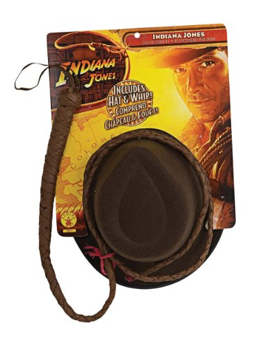 Indiana Jones Hut und Peitsche -Set für Herren Herrenkostüm Wild West Kostüm