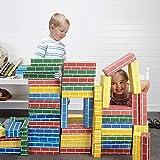 Lillian Vernon Primary Building Bricks- Kids Cardboard Bricks, Each 9' x 4' x 2' (Set of 24)