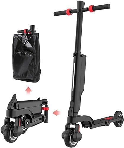 marcas de diseñadores baratos LYAA Bicicleta Scooter Eléctrico Plegable Tecnología Compacta Bicicleta Bicicleta Bicicleta Scooter Multifunción Aleación De Aluminio Bicicleta Eléctrica Carga 100 Kg  Mejor precio