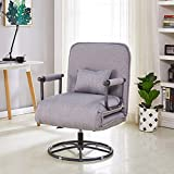 LCTCDD Moderne Simple 5 Position Chaise de Coucher Pliable Convertible Canapé-Lit...