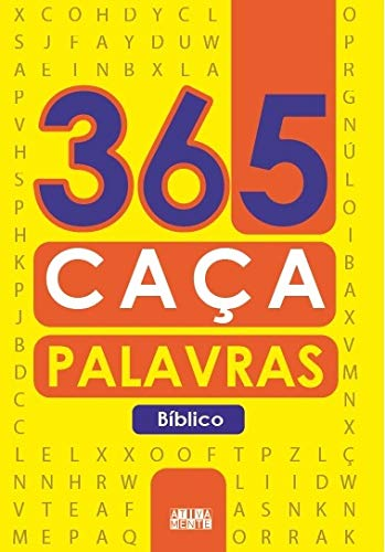 365 caça-palavras bíblico